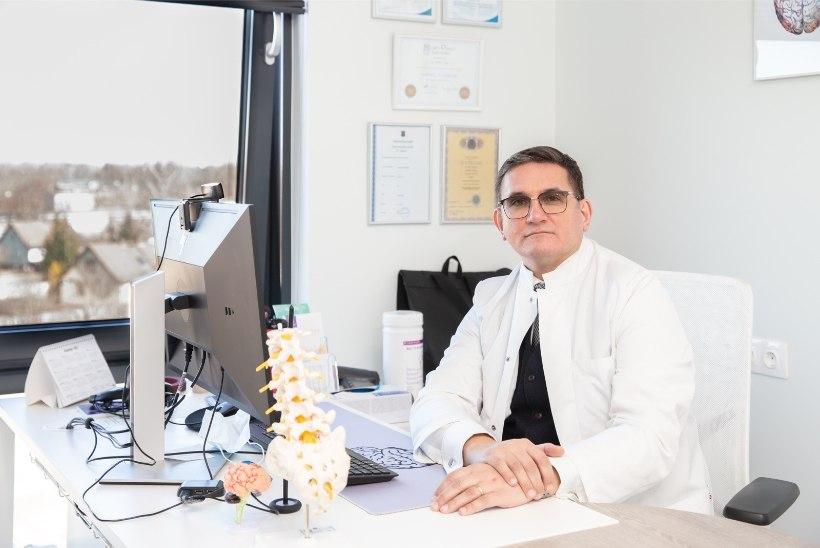 """Neuroloog Toomas Toomsoo: """"Tablettidega migreeni kontrolli all hoida ei õnnestu. Tuleb hakata teistmoodi süüa tegema."""""""