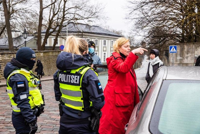 VIDEO | Juhised politseinikele enne Toompeale minekut: meie vastas ei ole seal kurjategijad nagu pronksiööl