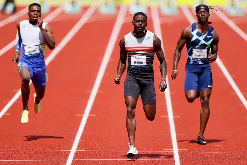 VIDEO | Ameerika sprinter jooksis võimsa maailma hooaja tippmargi
