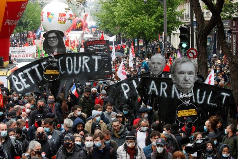 Tööpüha puhul toimusid meeleavaldused nii Prantsusmaal kui ka Türgis