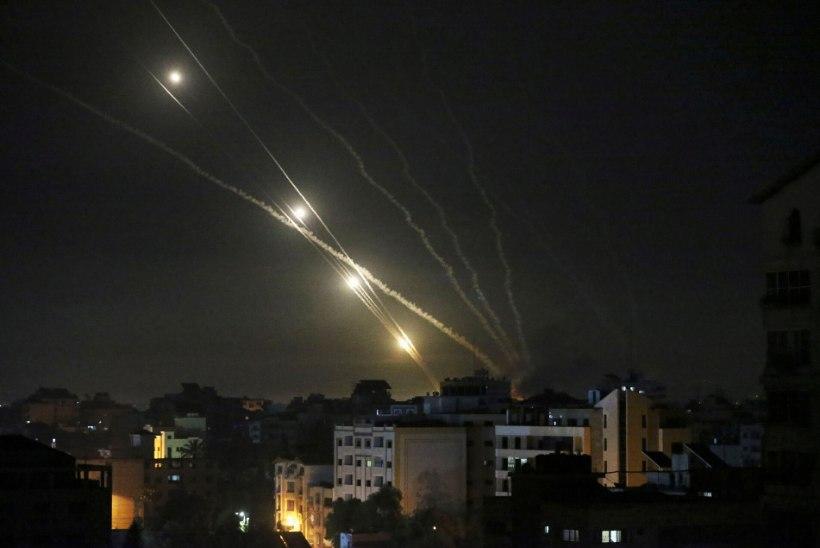 VIDEOD   SÕJAHIRM: Palestiina-Iisraeli pommirahes on surma saanud peaaegu 50 inimest