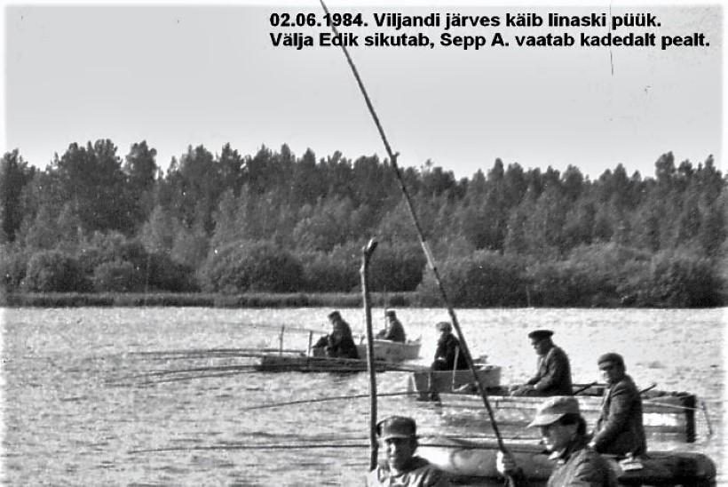 Veterankalamees Katenevi päevikud 1984: Peipsis siiga palju, aga mõõt väiksem
