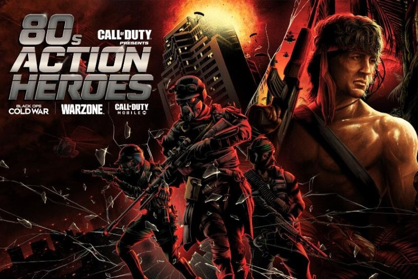 """VISAD HINGED: """"Call of Duty: Warzone"""" toob mängu 80ndate tuntuimad märulistaarid"""