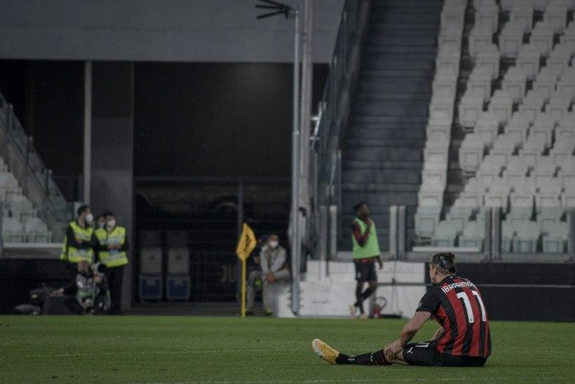 Ikkagi inimene: Ibrahimovic jääb EM-finaalturniirilt eemale