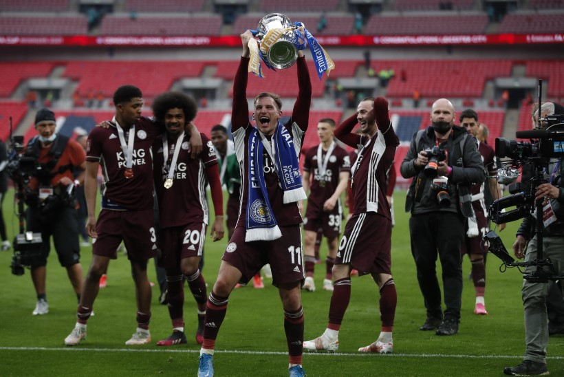 VIDEO | Leicester võitis viiendal katsel Inglismaa karikafinaali