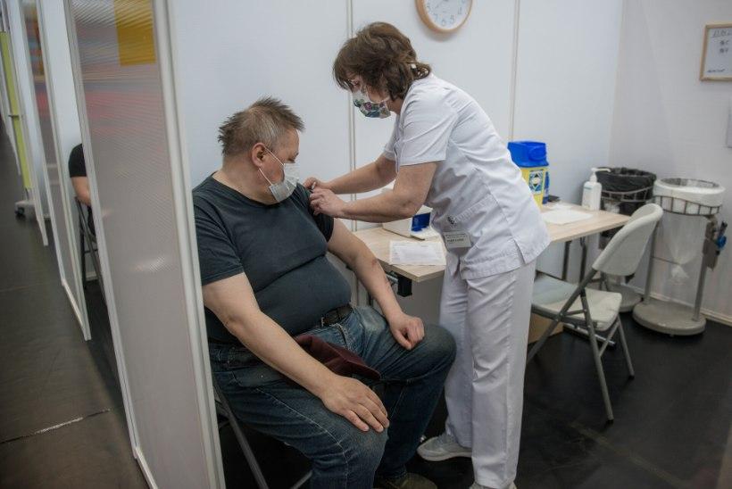Eestis on vähemalt ühe doosiga vaktsineeritud üle 400000 inimese