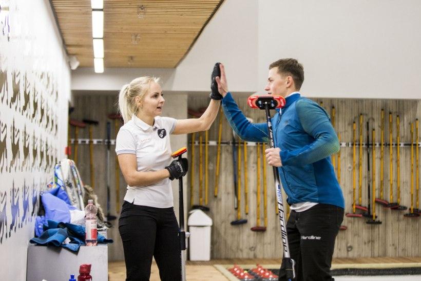 PÕNEV: Eesti kurlingupaar alustab võitlust olümpiapääsme nimel