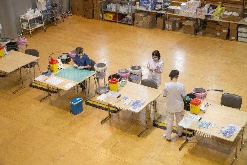 FOTOD   Tallinnas ja Tartus avati vaktsineerimiskeskused