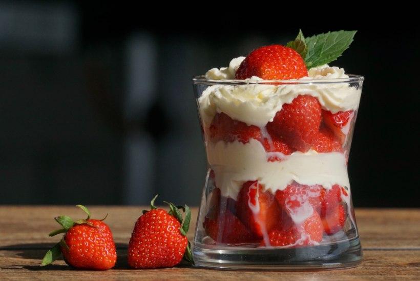 HEAD ISU! Tähista rahvusvahelist kooreste ja kreemiste maasikate päeva