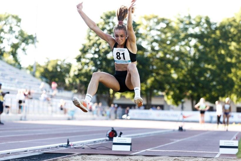 USAs kaugushüppes vinge rekordi püstitanud Lishanna Ilves: olin meeletult õnnelik
