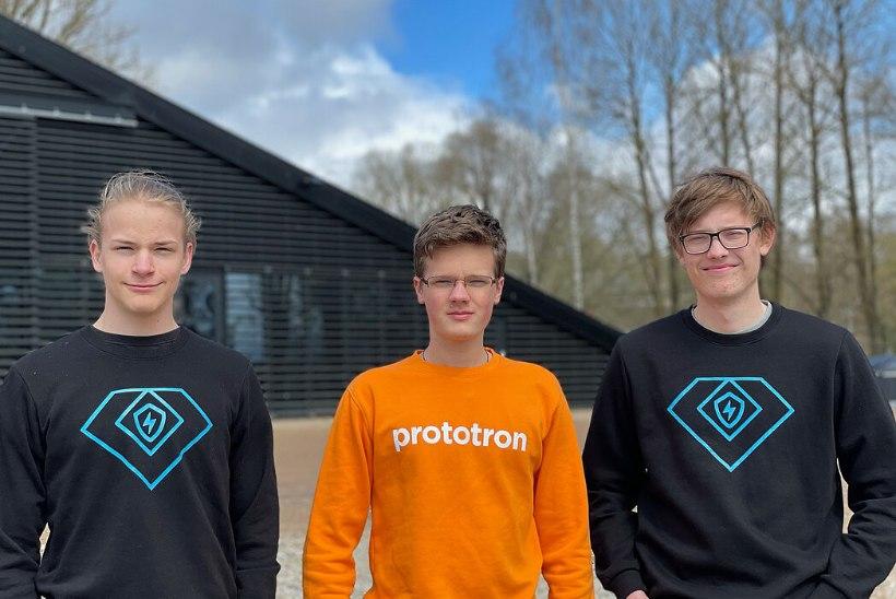 TULEVIKUTEGIJAD | Tartu poisid arendavad nutikat ukselinki, mis teeb viirustega üks-null: kõik koroonaga seonduv müüb jube hästi!