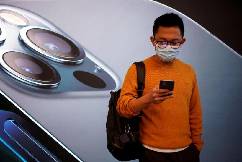 Apple andis Hiinale järele
