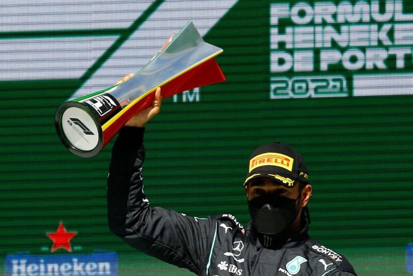 Hamilton võitis karjääri 97. etapi, Bottas jäi lõpuks kolmandaks