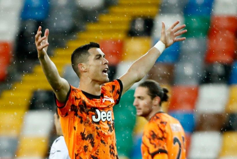 VIDEO   Ronaldo päästis Juventusele üliolulised võidupunktid