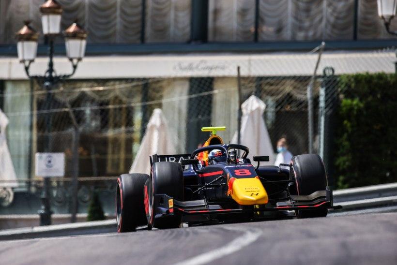 Vips jõudis Monacos poodiumile, kuid okas jäi hinge