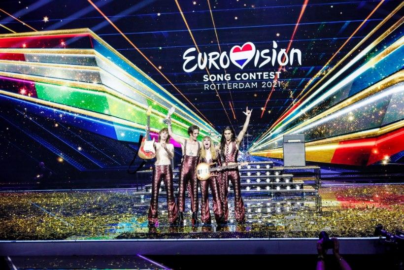 TÄNAVAMUUSIKUTEST EUROVISIONI VÕITJATEKS! Ansambel Måneskin: vedasime võidu peale kihla ja laulja peab nüüd jõkke hüppama!