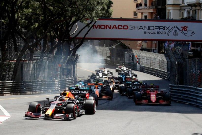 Verstappen võitis draamat täis Monaco GP ja tõusis üldarvestuses liidriks