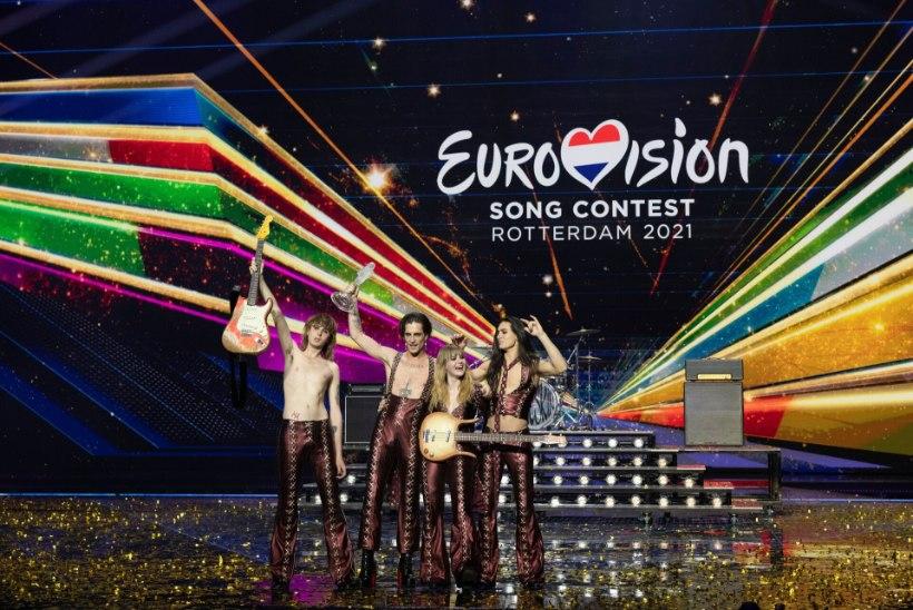 BLOGI JA GALERII   SAAPAMAA VÕIDUKÄIK! Eurovisioni 65. tšempion on Itaalia!