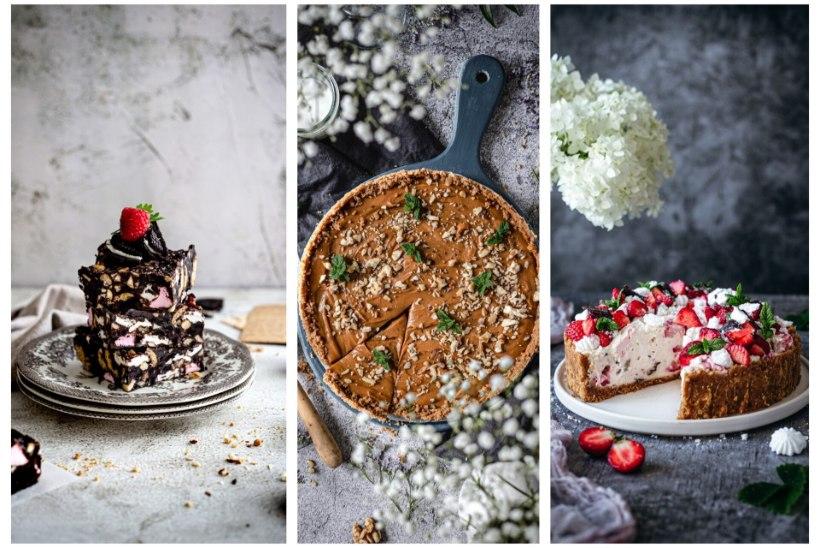 SELLE SUVE STAARKOOGID! Ragne Värki küpsetamata hõrgutised: juustukook, karamellikook pähklitega ja rocky road