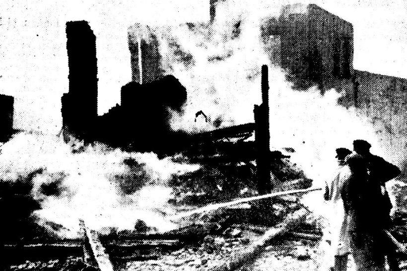 SUUR TULEMÖLL: emalt viinaraha nõudnud joodik põletas maha kolmandiku Petseri linnast