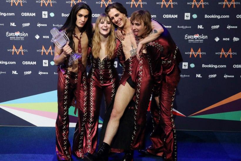 VÕRDLE ISE! Itaalia Eurovisioni-võitjat tabas plagiaadisüüdistus