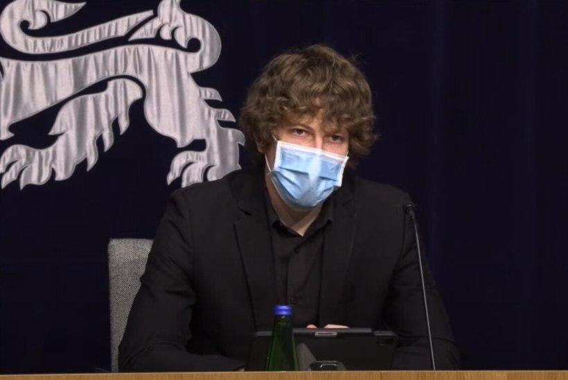 VIDEO | Tanel Kiik: kui ei toimu nakatumise plahvatuslikku kasvu, võib maskikohustus juuni keskpaigast kaduda