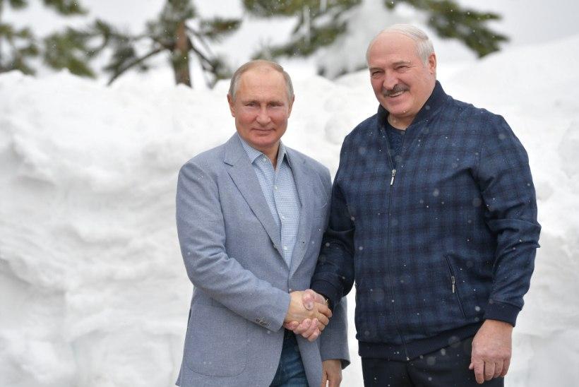 VABANDUS VASTU VÕETUD! Lukašenka: Putin vabandas, et ta arutas Valgevene olukorda ilma minu loata