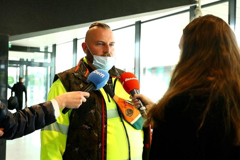 ÕL VIDEO | Valgevenest viimase lennukiga saabunud reisijad: mõtlesime kogu aeg, kas peame poolelt teelt tagasi pöörama