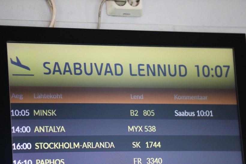FOTOD | Maandus viimane lend Minskist Tallinna! Eesti katkestas ühenduse Valgevenega