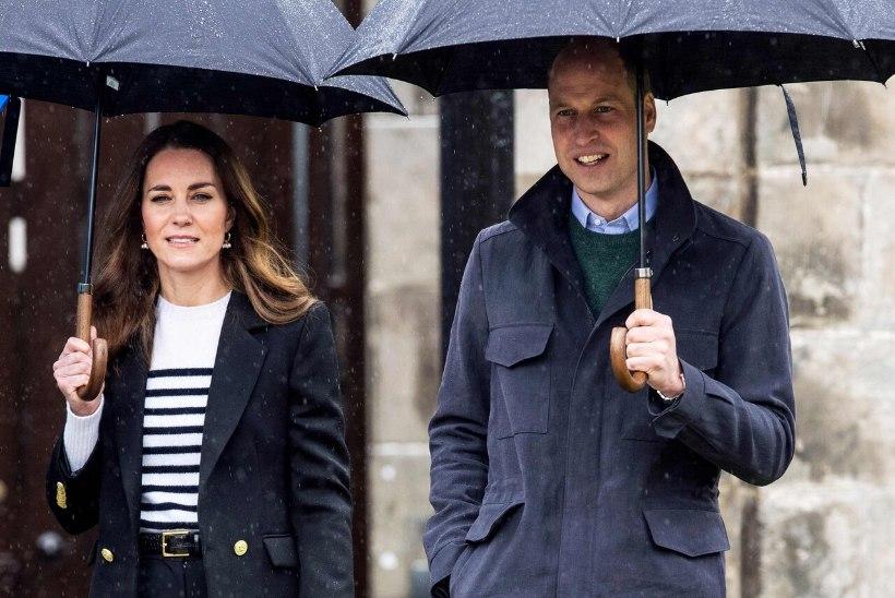 Prints William ja Kate naasid oma armuloo süttimise paika