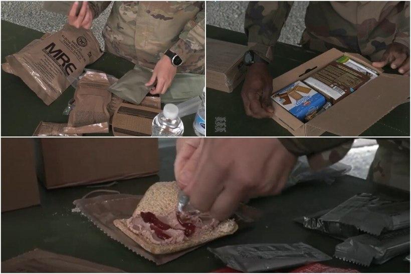 VIDEO | Elagu Eesti sõdurite toit? Vaata, millega liitlassõdurid kõhtu kinnitavad