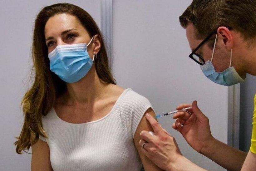 """Kate Middleton sai esimese vaktsiinisüsti: """"Olen tohutult tänulik."""""""