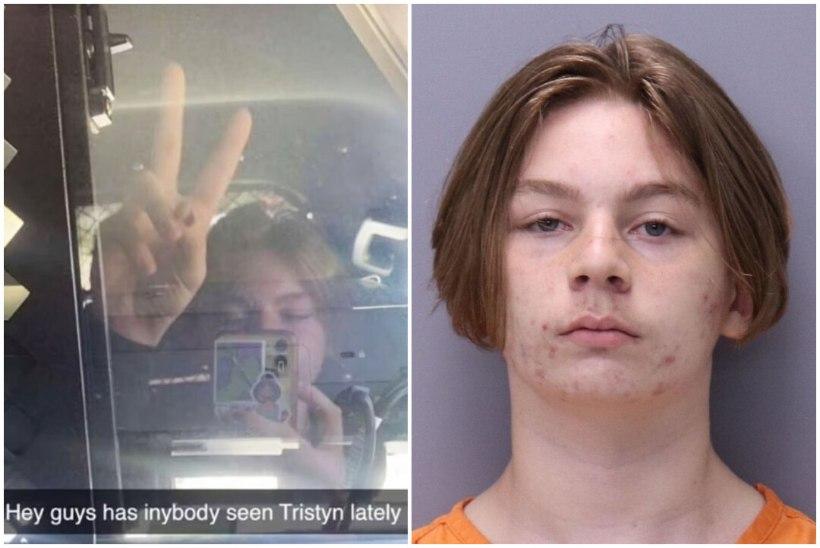 """""""Hei, kutid, millal viimati Tristynit nägite?"""" 14aastane poiss tappis tüdruku 114 noahoobiga ja postitas politseiautos olles hoopleva selfi"""