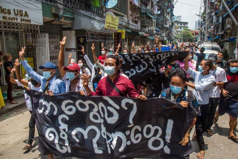 LÕPPU EI PAISTA: Myanmari riigipöördele järgnenud kolme kuuga on tapetud üle 750 inimese