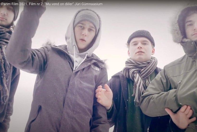 VAATA FILME!   Narkomüügi lühifilmiks teinud noored: inspiratsiooni andis Jüri allmaailm
