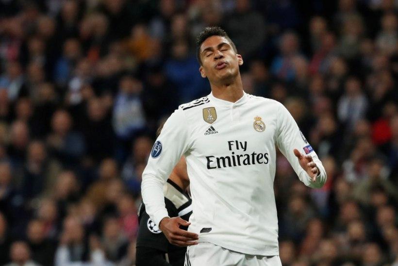 Madridi Real sai enne poolfinaali korduskohtumist tagasilöögi