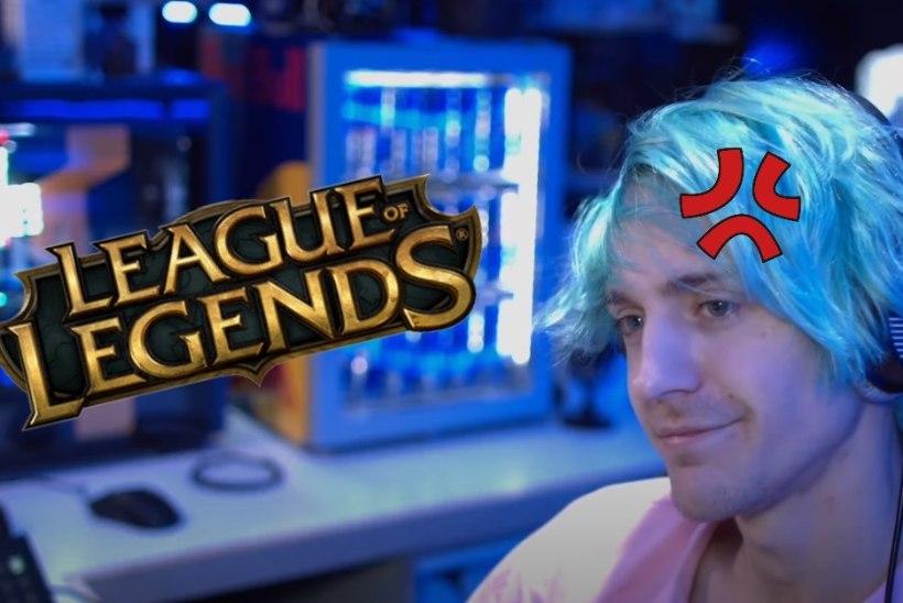 """""""League of Legends"""" toob esile Ninja toksilise poole, ent see võib mehe tagasi Twitch.tv tippu viia"""