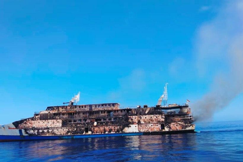 Indoneesia laevapõlengust päästeti 274 inimest, ent üks on veel kadunud