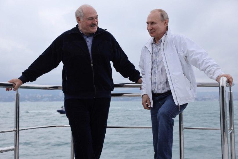 Kaks päeva Mustal merel: Lukašenka sai kõik, mida soovis