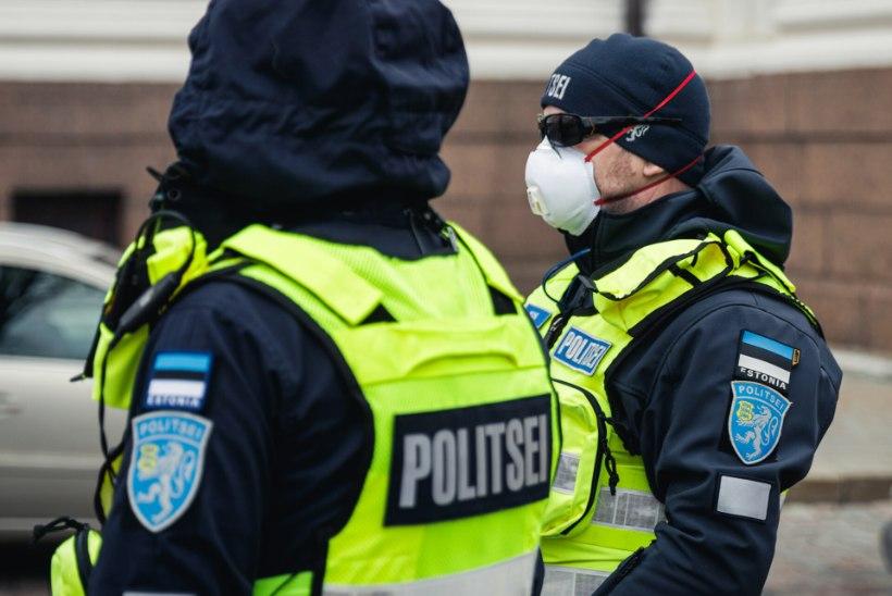 JÄÄB PUUDU! Kantsler küsib politseinikele ja piirivalvuritele juurde 1,7 miljonit kaitsemaski