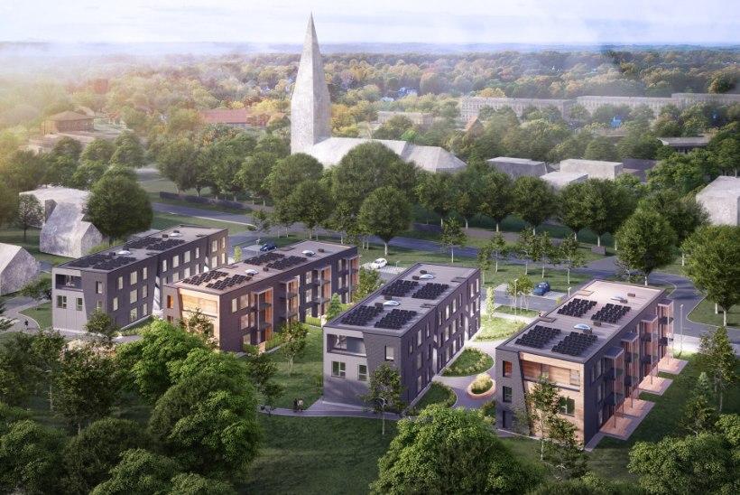 A-energiaklassi korterid kõrgelt hinnatud Keilas