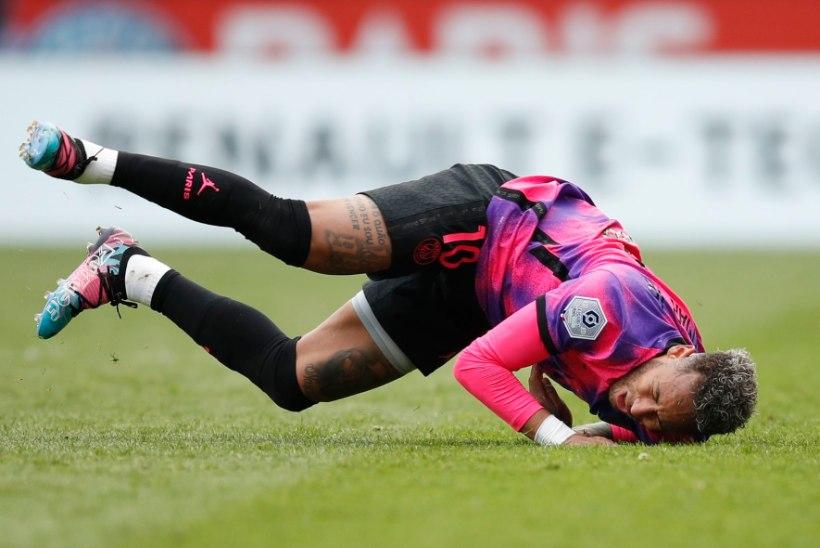 Neymar on meistrite liiga finaali pääsemise nimel väljakul kas või surema
