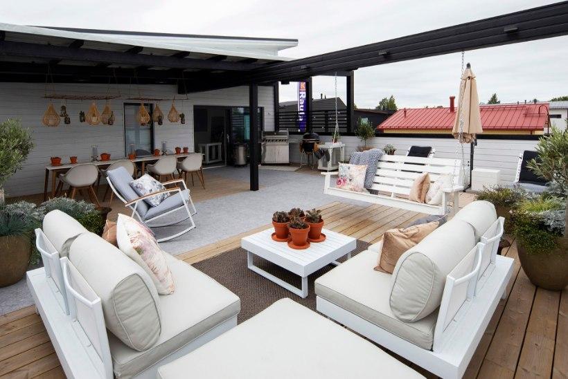 Muuda terrass või rõdu mõnusalt suviseks elutoaks!