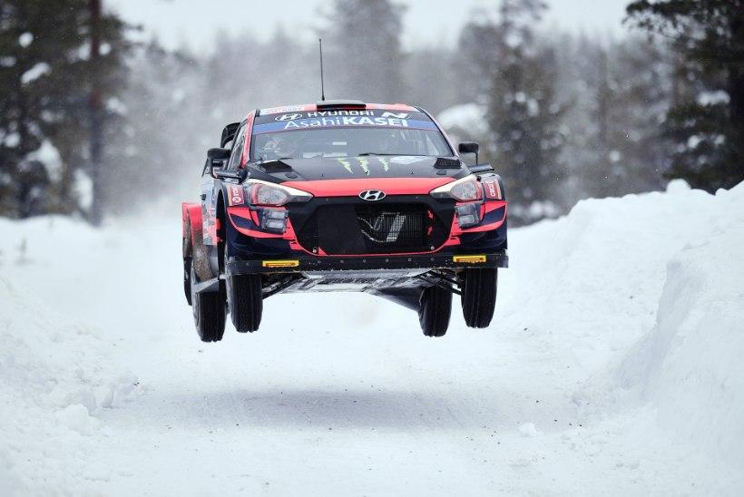 Hyundai annab noorele Solbergile WRC-masinaga uue võimaluse