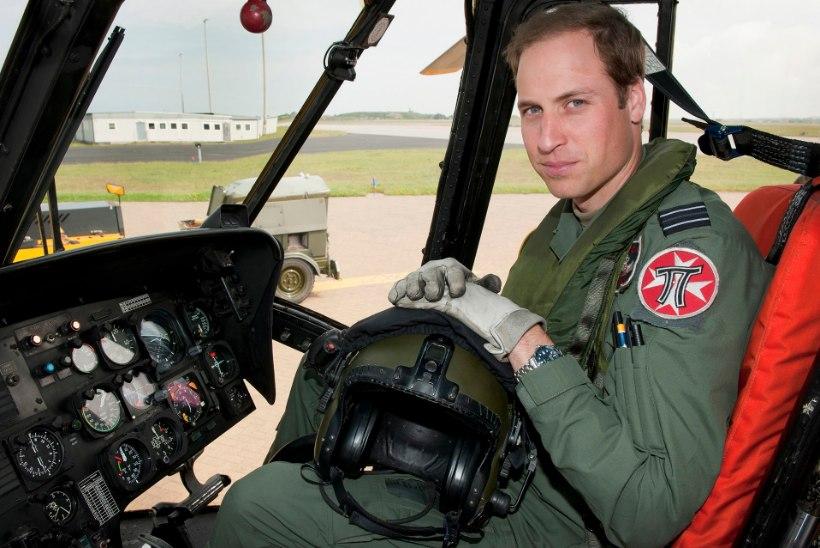 TERVISEPAANIKA: prints Williami kolleeg sai helikopteri mürgiaurudest vähktõve