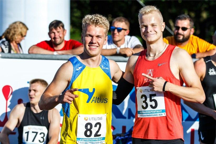 EESTI MULTITALENT: pidurdamatust jalgpalli tipuründajast Euroopa tasemel sprinteriks