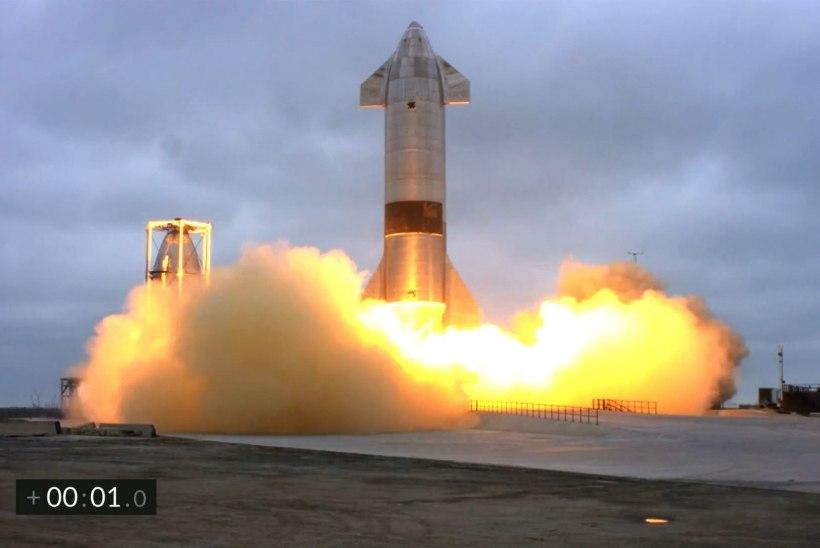 VIDEO | SpaceX rakett Starship maandus pärast esimest lendu edukalt