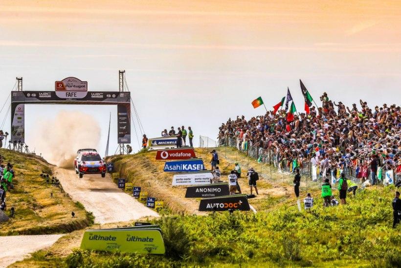 HEA UUDIS! Portugali ralli on pärast Eestit esimene koht, kuhu publik on ametlikult jälle lubatud!