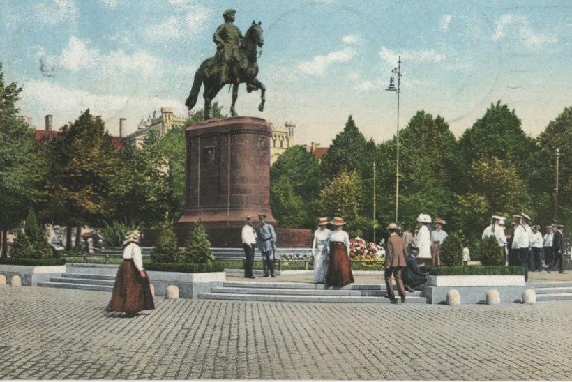 Kuidas Eesti oma vetest Riia Peeter Suure kuju leidis, olles Tallinna oma hävitanud