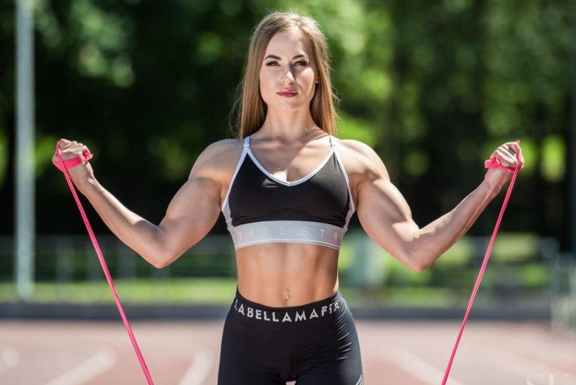 Bikiinifitnessi maailmameister Arida Muru pikast võistluspausist: tark sportlane mõtleb tervisele